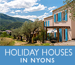 Holiday houses in Nyons