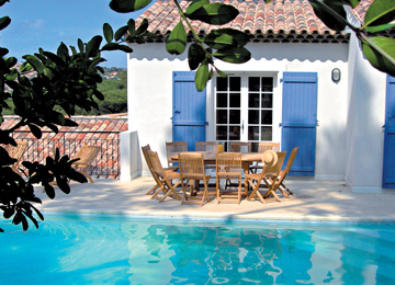 Self-catering - Hire Cote d'azur Sainte Maxime Le Carre Beauchene