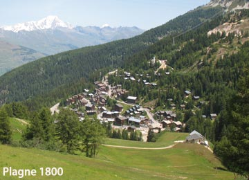 RESORT : la Plagne