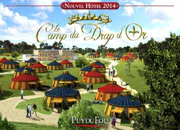 Hotel camp du drap d 39 or holiday accommodation puy du fou lagrange - Hotel camp du drap d or puy du fou ...