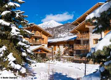 Self-catering - Hire Isere / Southern Alps Serre Chevalier Le Hameau du Rocher Blanc