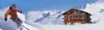 Ski properties at the foot of the slopes